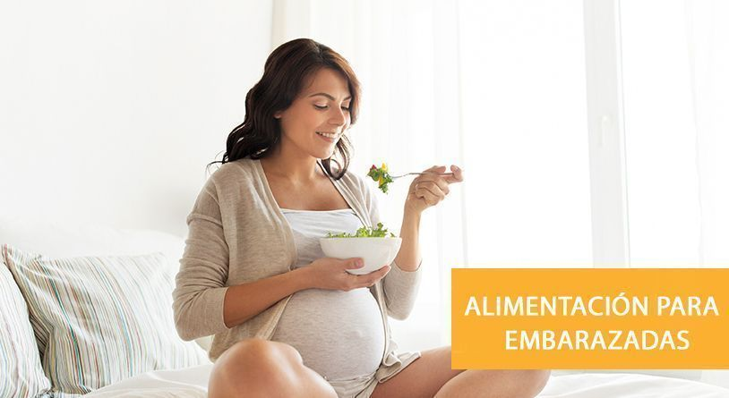 f47068581 La dieta durante el embarazo. mujer embarazada