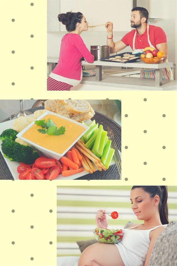 menús para embarazadas