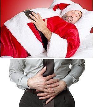 acidez comida navidad