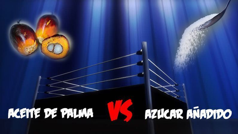Oli de palma versus sucre afegit: duel de titans