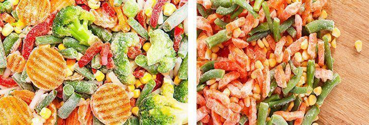 verdures congelades