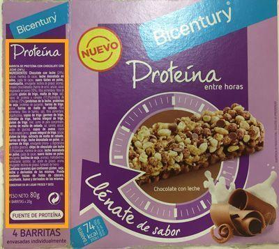 información nutricional bicentury