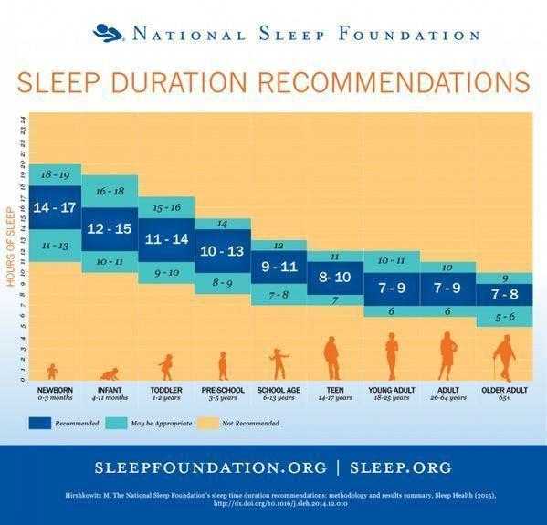 cuantas horas es necesario dormir