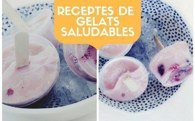 Receptes de gelats saludables per gaudir de l'estiu cuidant la nostra dieta
