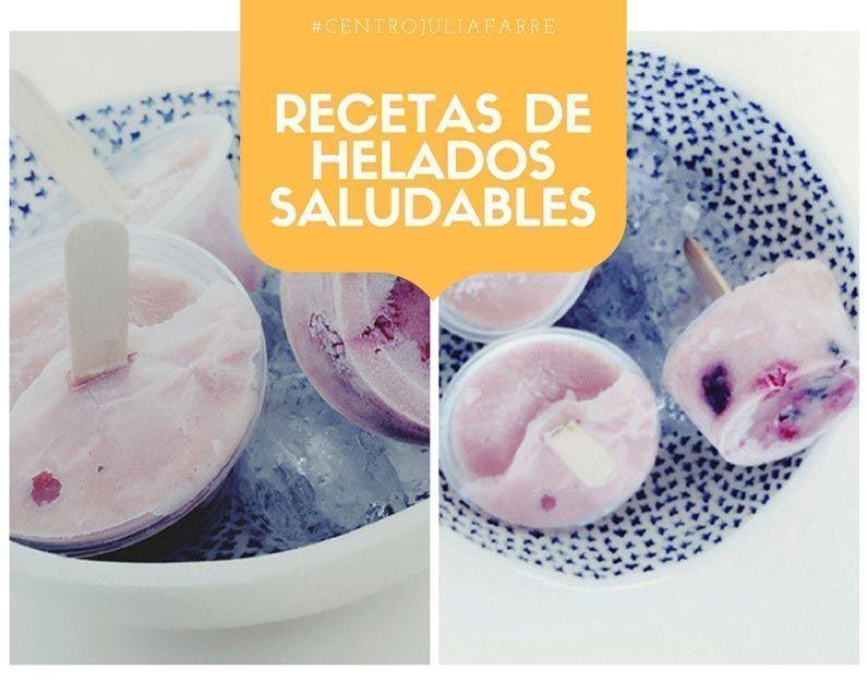 Recetas de helados saludables para disfrutar del verano cuidando nuestra dieta