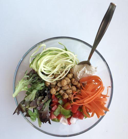 Buddha Bowl de verduras
