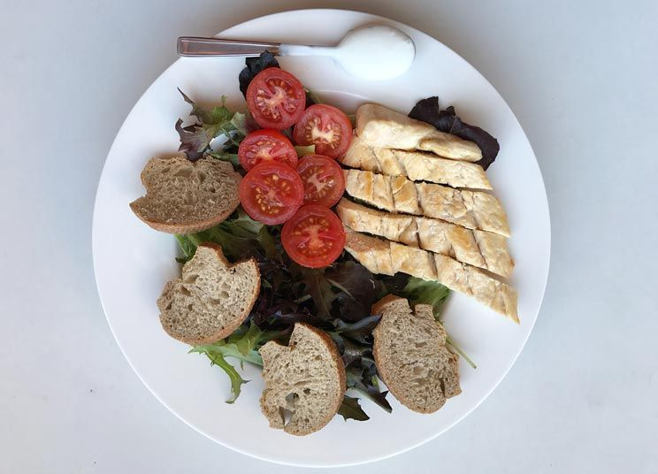 receta ensalada cesar