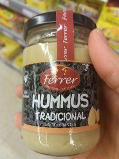 hummus tradicional para niños