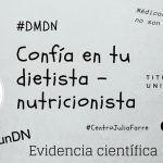 24 de noviembre Día Mundial del Dietista – Nutricionista