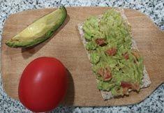 tosta de guacamole