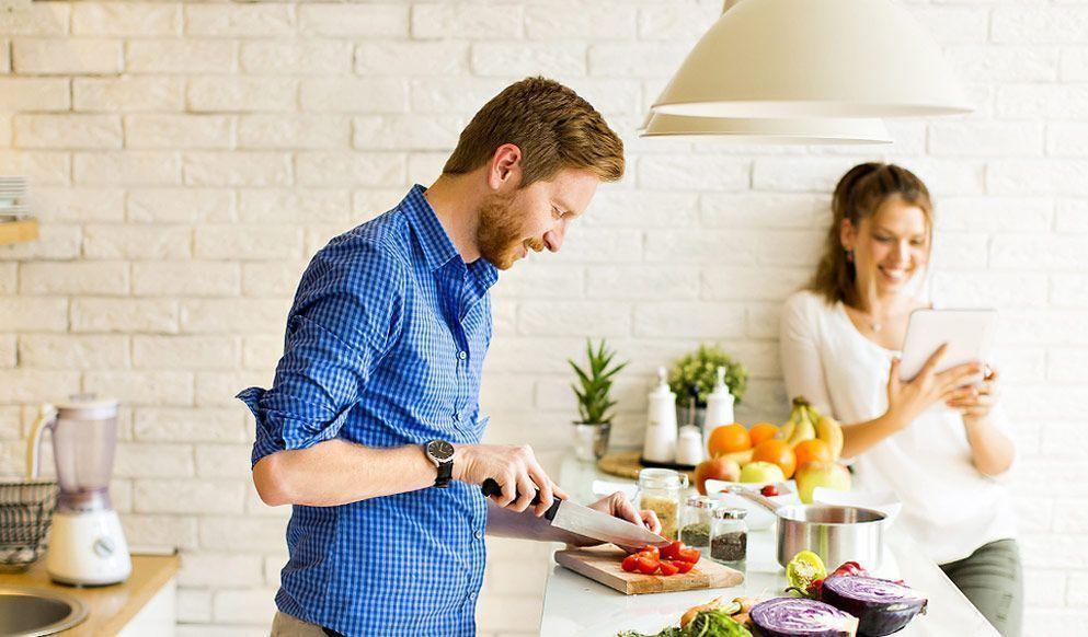 diferentes formas de cocción de la comida