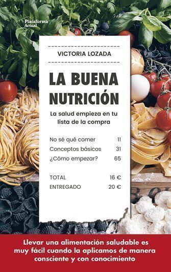libro la buena nutrición, victoria lozada Sant Jordi