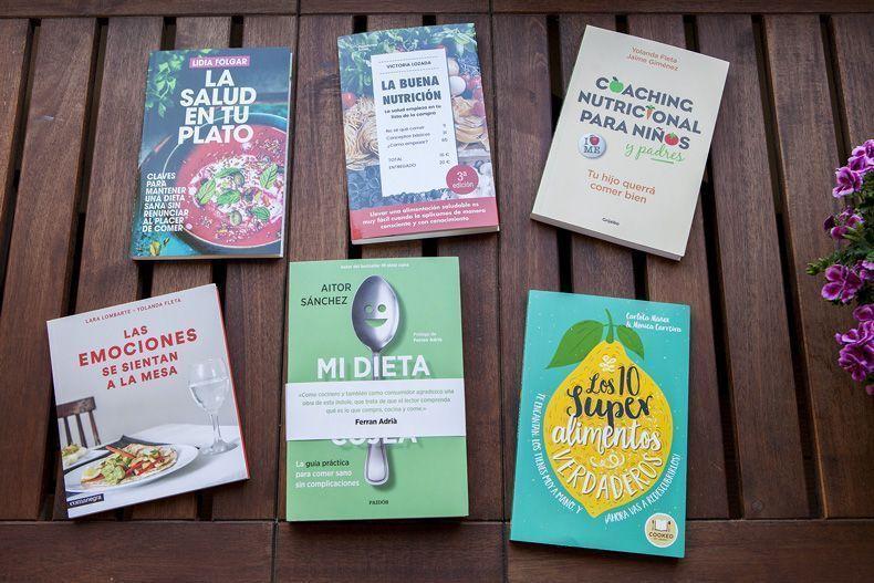11 Recomendaciones de libros de nutrición para el día de Sant Jordi