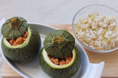 recetas del método del plato con calabacín