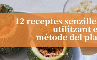 El mètode del plat: 12 receptes equilibrades i senzilles