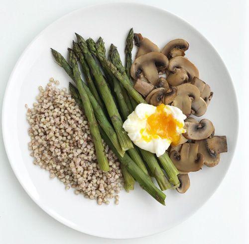 receta equilibrada con trigo sarraceno