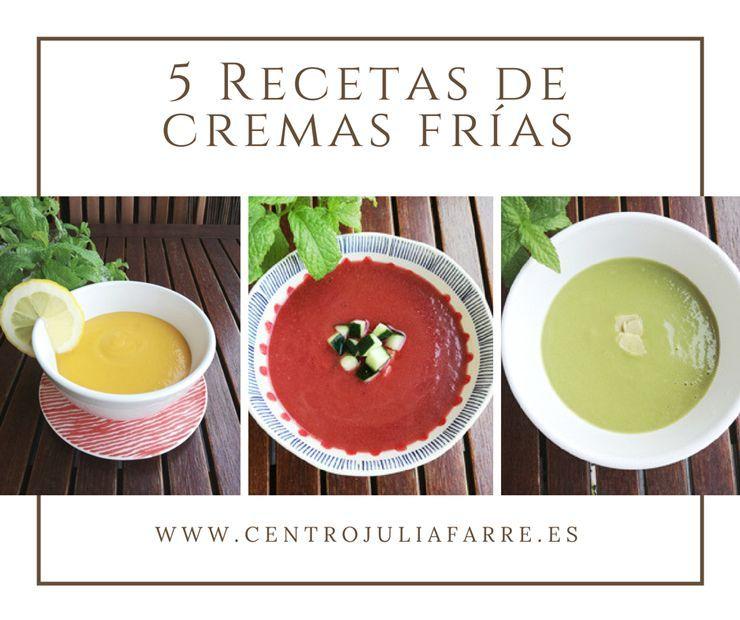 5 recetas de cremas frías para incorporar a tu dieta