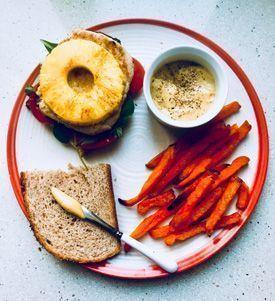 hamburguesa com a fast food