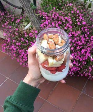 recepta de mousse de fruites ligera