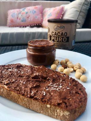 nocilla casolana recepta