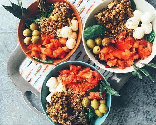 poke bowl comida rápida