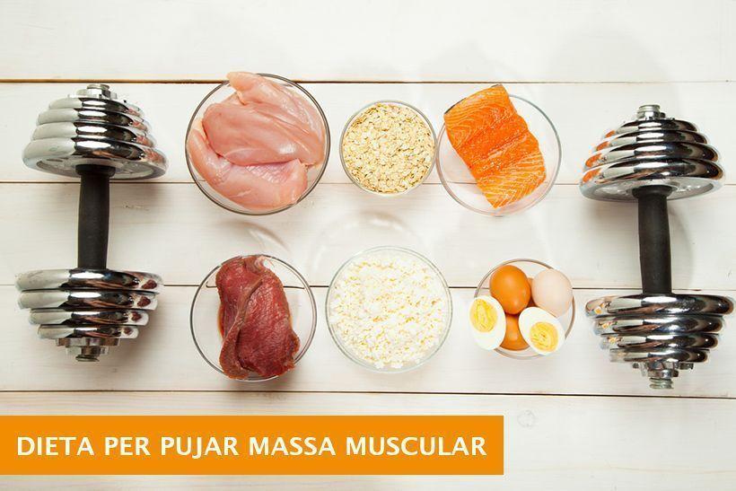 dieta per pujar muscul