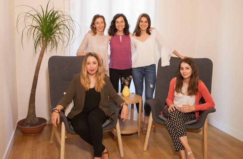 equipo de psicologas en Barcelona