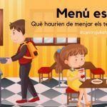 Menú escolar: Com avaluar el que mengen els teus fills a l'escola?