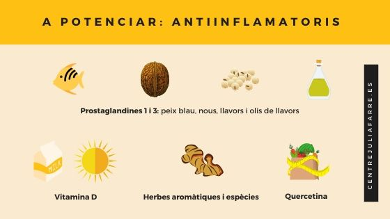 aliments a incloure dieta endometriosi