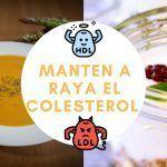9 recetas para bajar el nivel de colesterol de tu dieta