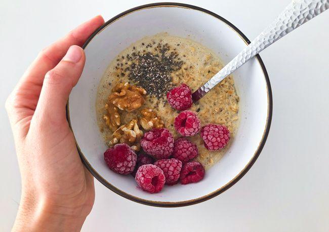 desayuno vegano saludable