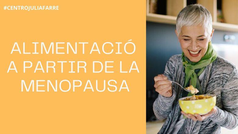 dieta en la menopausa