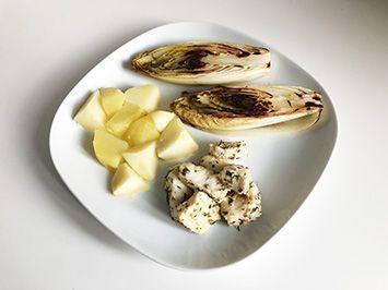 ejemplo de receta para cenas de perdida de peso